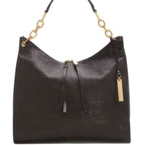 Vince Camuto Avin leather chain hobo tote bag $278